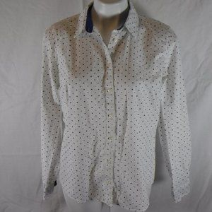 Polka Dot Izod Oxford Shirt